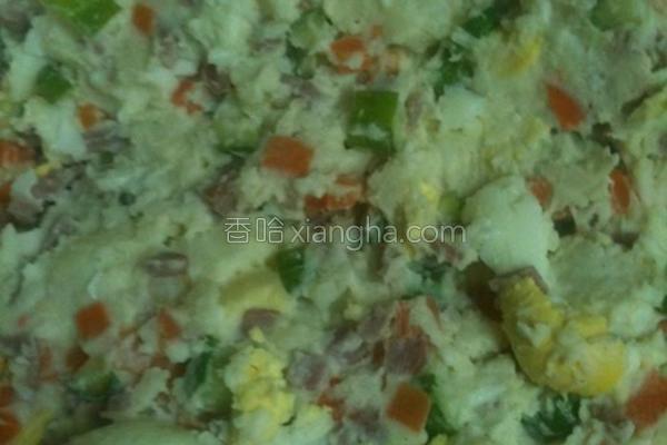 马铃薯蛋沙拉的做法