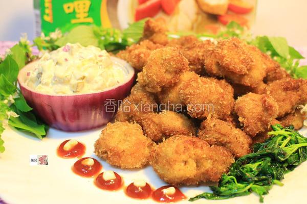 绿咖哩香酥鸡