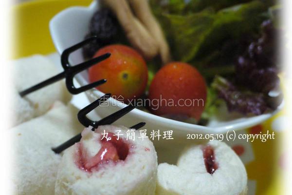 丸子料理宝宝吐司的做法