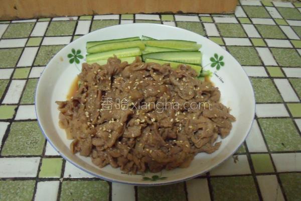 日式姜汁烧肉的做法