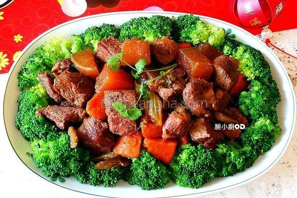 富贵吉祥红焖肉的做法