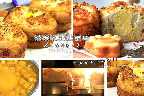 苹果乳酪鸡蛋糕
