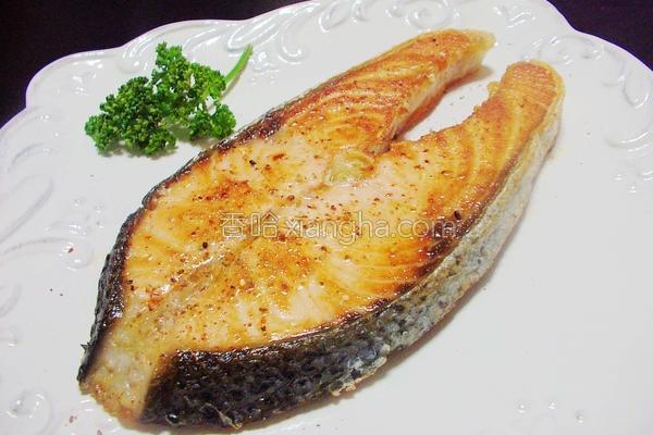 香煎鲑鱼的做法