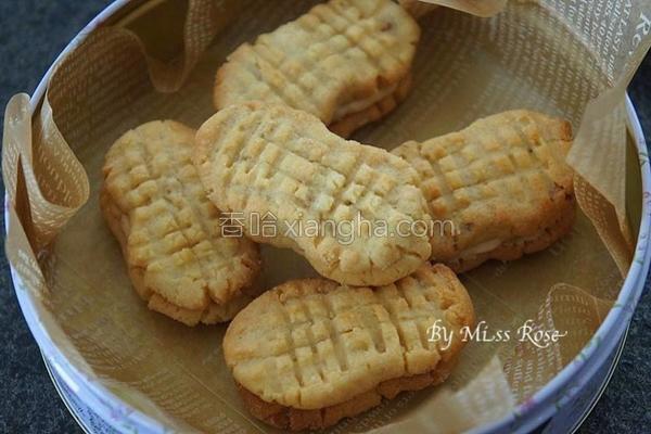 花生夹心酥饼的做法