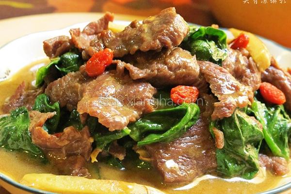 川七炒牛肉的做法