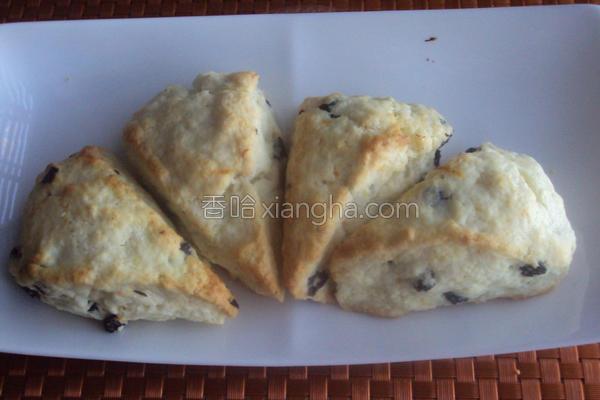 橙皮蓝莓小松饼的做法