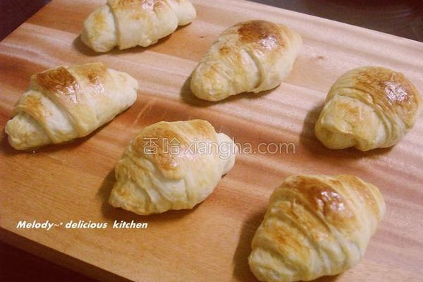 可颂面包的做法