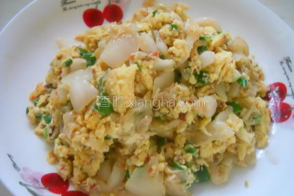 韩式泡菜炒蛋的做法