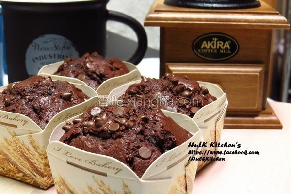 巧克力豆玛芬的做法