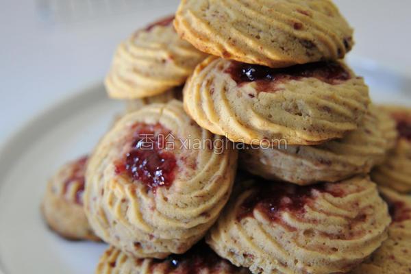 蔓越莓起司奶油饼的做法
