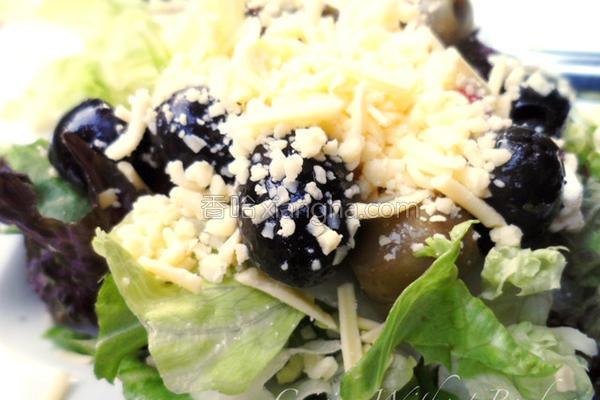 菲达起司橄榄沙拉的做法