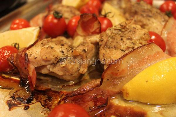 烤盘烤鸡的做法