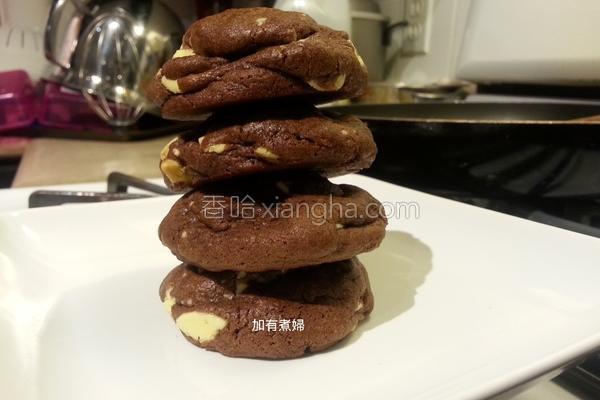 {双巧克力饼干的做法