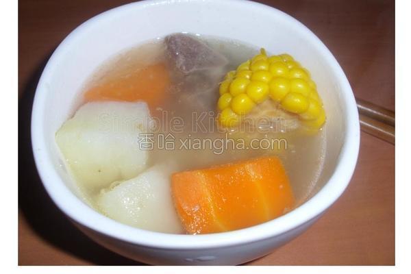 马铃薯排骨汤的做法