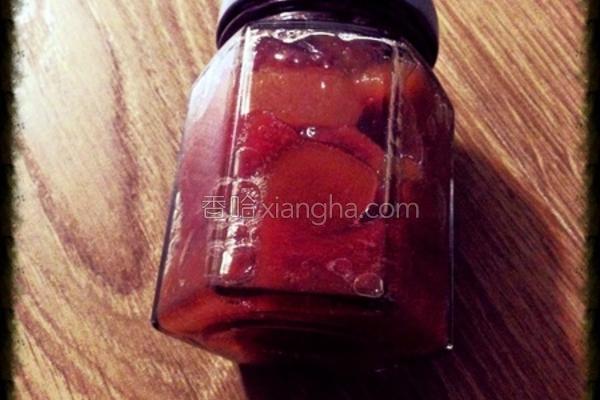 红心番石榴果酱的做法