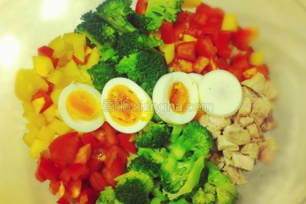 简易蔬菜沙拉的做法