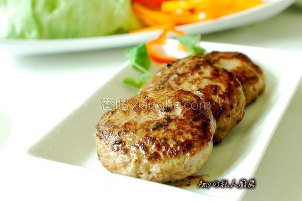 自制汉堡肉的做法