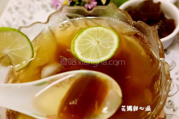 冬瓜柠檬粉粿的做法