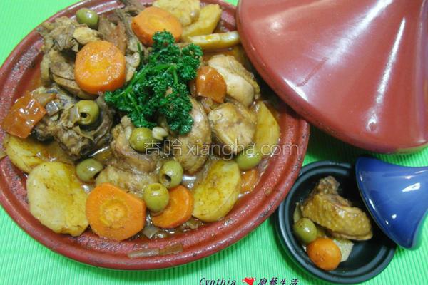 摩洛哥橄榄鸡的做法