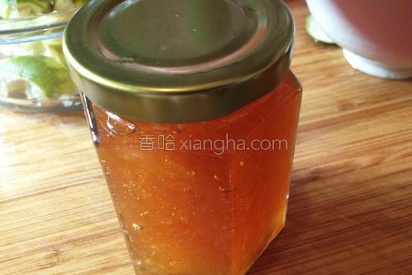 蜂蜜柚子酱的做法