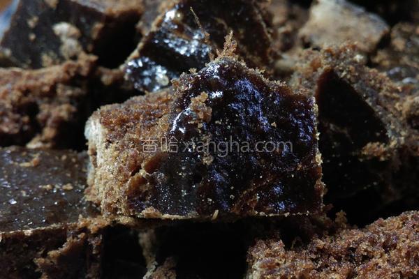 黑糖生姜茶砖的做法