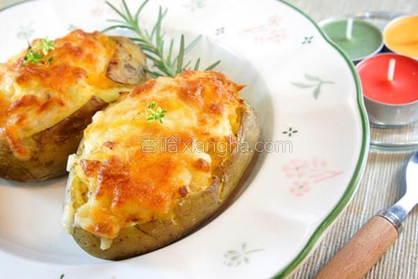 焗烤鲭鱼洋芋的做法