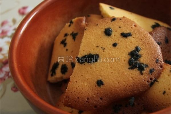 海苔.小圆饼的做法