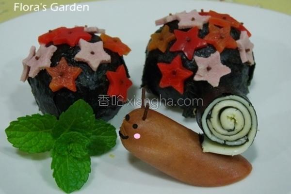 元本山海苔蜗牛的做法