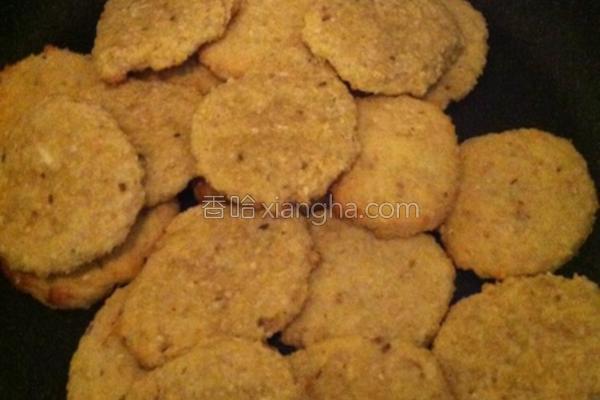 低脂高纤豆渣饼干的做法
