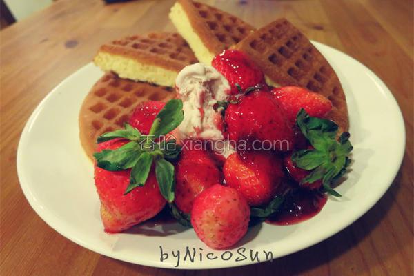 草莓季的做法