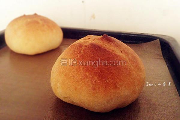 免揉免甩欧式面包的做法