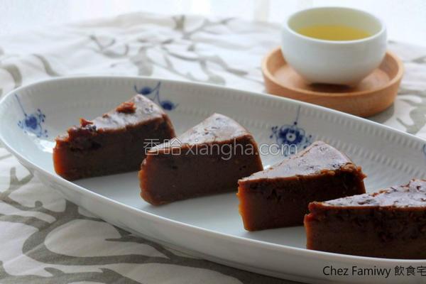 黑糖桂圆燕麦糕的做法