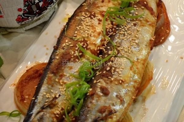 味噌烤秋刀鱼的做法