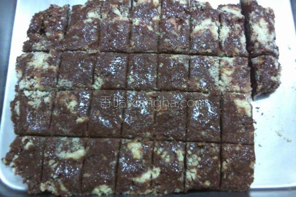 巧克力酥条的做法