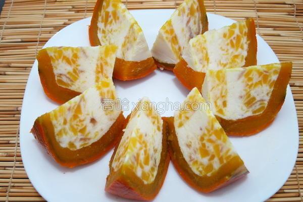 南瓜奶酪甜点的做法