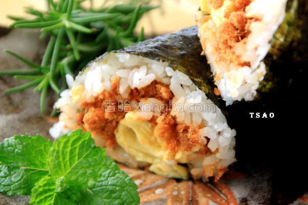 海苔饭卷的做法