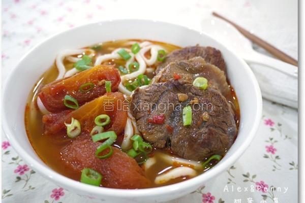 番茄红烧牛肉面的做法