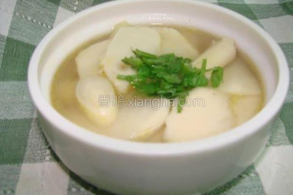 竹笋汤的做法
