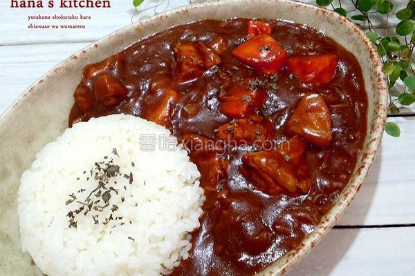 日式咖哩鸡肉饭的做法