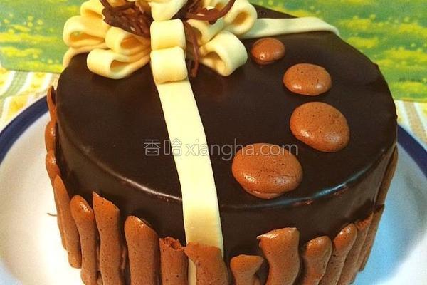 重乳酪心巧克蛋糕的做法