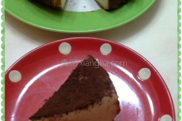 简易热烤起司蛋糕的做法