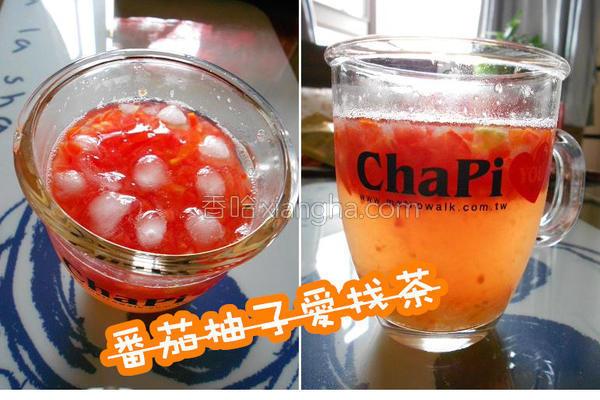 番茄柚子爱找茶的做法