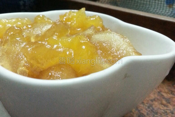 苹果橘子果酱的做法