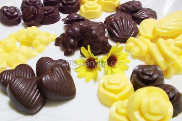 情人节巧克力的做法