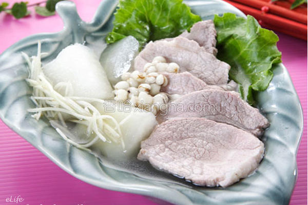 冬瓜瘦肉汤的做法