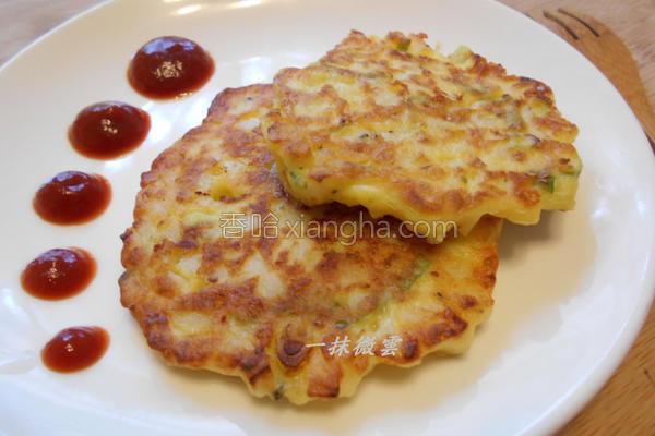 马铃薯乳酪煎饼的做法