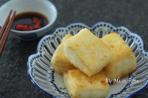 简易酥煎豆腐的做法