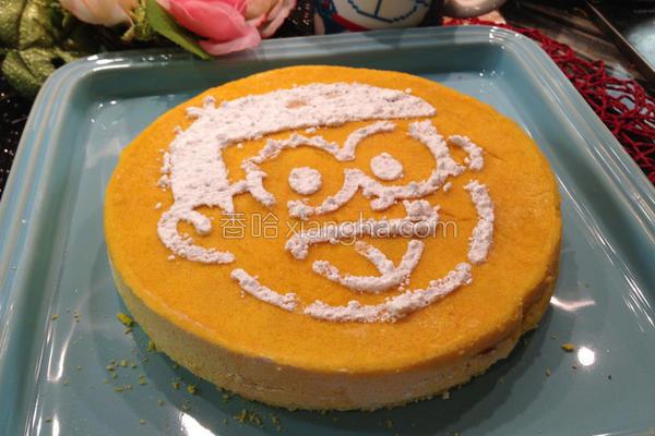 南瓜蒸松糕的做法