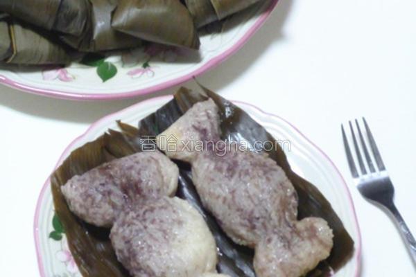 可爱红豆粽的做法