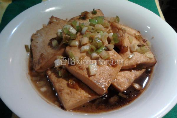 酱烧蛋豆腐